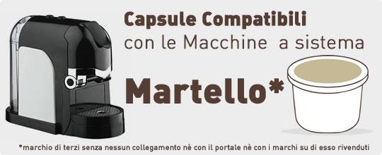 Capsule Compatibili Martello Fior Fiore