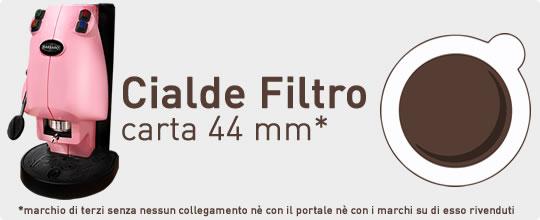 Cialde Filtro Carta ESE 44mm