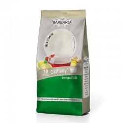CAFFITALY 100  PZ (10 X 10) TISANA ZENZERO E LIMONE